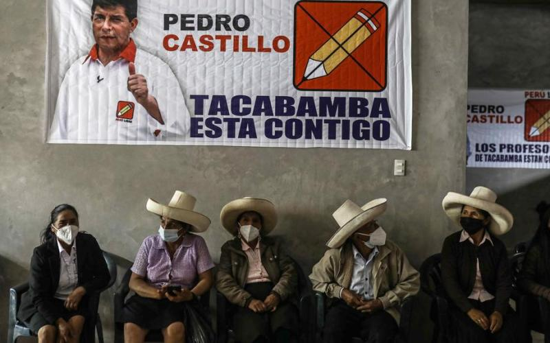 Peru presidential candidate outlines new taxes, royalties for miners