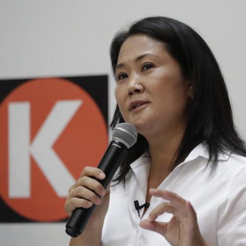 Peru's Vargas Llosa backs Keiko Fujimori ahead of June run-off
