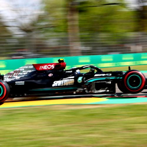 Bottas leads Mercedes one-two in first practice session in Imola
