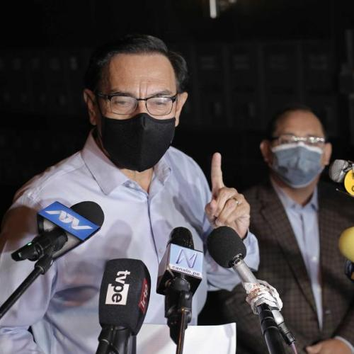Peruvian ex-president Vizcarra banned from public office over vaccines scandal
