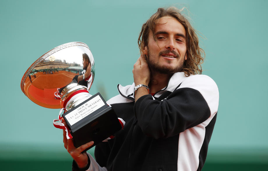 Tsitsipas happy to follow mother onto Monte Carlo honour roll