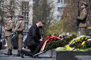 Poland marks 78th anniversary of the Warsaw Ghetto Uprising