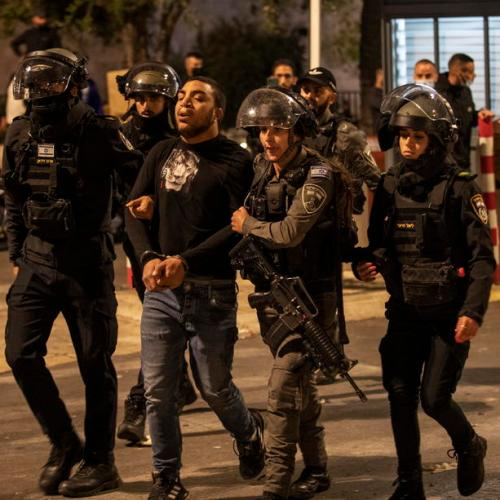 Israeli police clash with Palestinians as East Jerusalem tensions flare during Ramadan