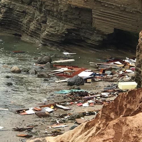Migrant boat breaks up off San Diego, killing three