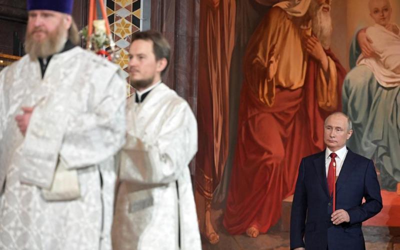 Photo Story: Orthodox Christians celebrate Easter