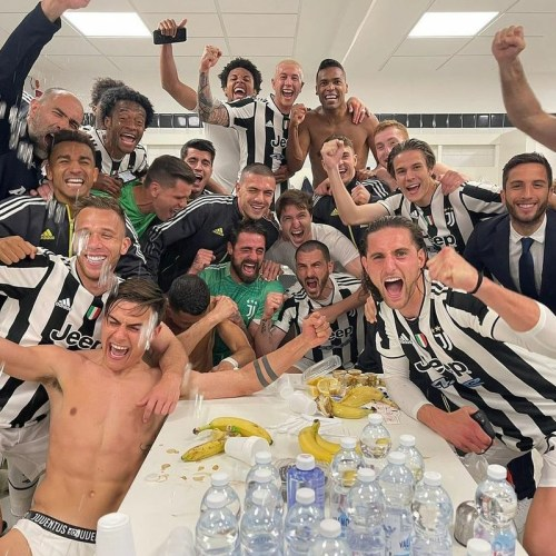 Juve thrash Bologna to seal Champions League spot