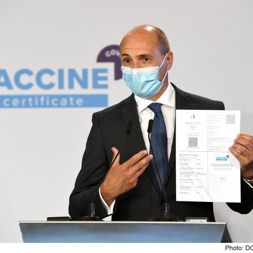 Malta formally launches vaccine certificate