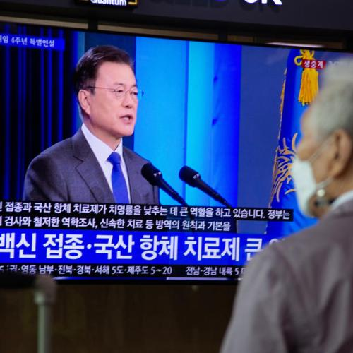 South Korea's Moon says 'time to take action' on North Korea ahead of summit with Biden