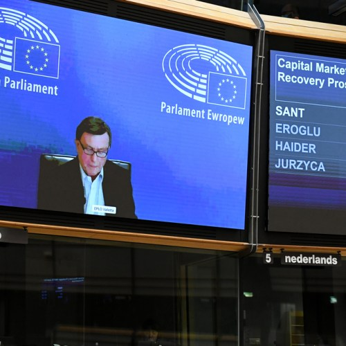Sant calls for less confrontation as he abstains on EP resolution on Russia
