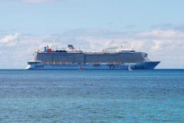 UPDATED: Royal Caribbean CEO says crew members on Odyssey of the Seas test positive
