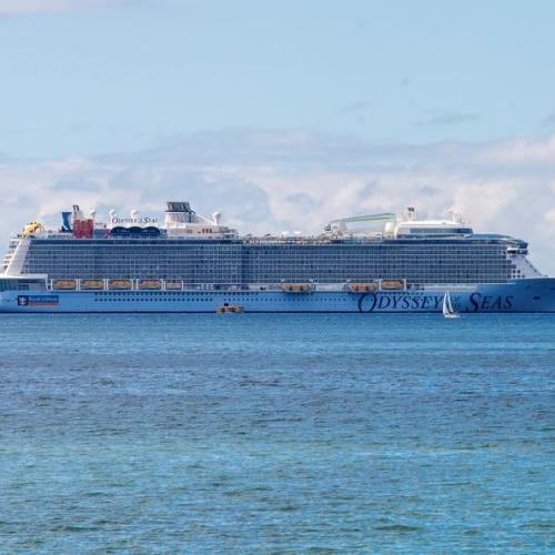 Photo Story: 'Odyssey of the Seas' leaves crew members in Palma de Majorca after testing positive for coronavirus