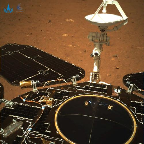 UPDATED: China says Martian rover takes first drive on surface of Red Planet