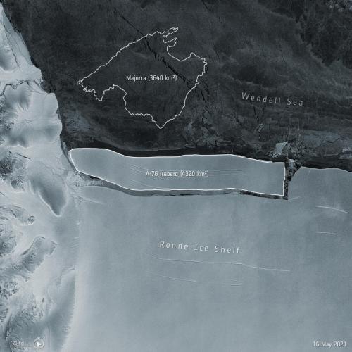 Antarctica gives birth to world's largest iceberg