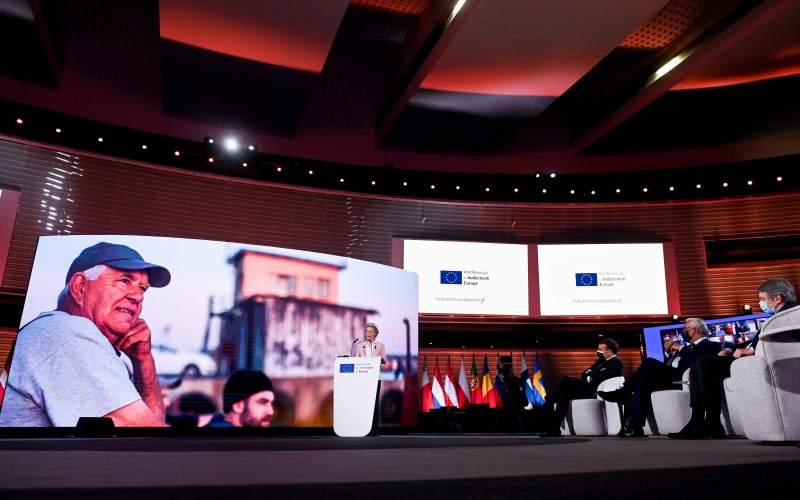 """UPDATE – """"Solidarity"""" is the key for Europe's future stress European Leaders on Europe Day's inauguration of the Conference on Future of Europe"""