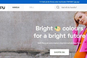 H&M's online second-hand shop Sellpy launches in 20 more countries