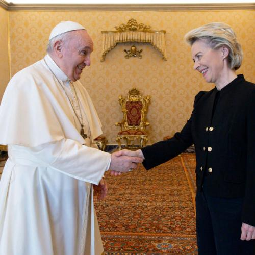 Photo Story: Pope Francis receives European Commission President von der Leyen