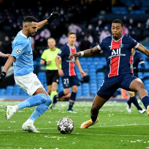 Mahrez double carries Man City into first Champions League final