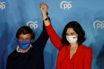 Isabel Díaz Ayuso's wins Madrid election