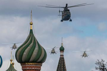 Photo Story: Rehearsal for Victory Day parade in Moscow