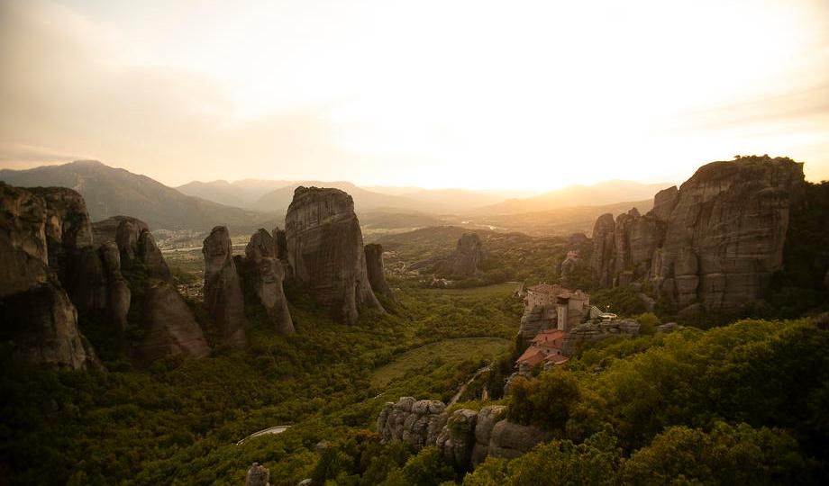 Photo Story – Meteora rock formation