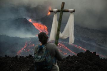 Photo Story – Pacaya volcano eruption in Guatemala