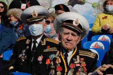 Photo Story – Victory Day military parade in St. Petersburg