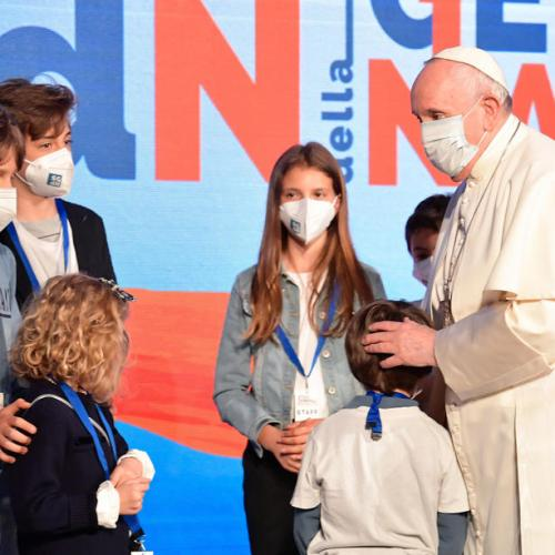 Child abuse is psychological murder – Pope Francis