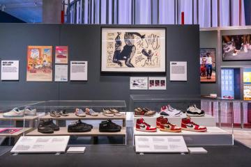 Photo Story – Sneakers Unboxed: Studio to Street exhibition preview at London Design Museum