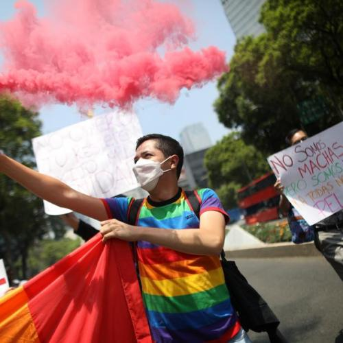 Photo Story – Mexico's LGBT community demands an end to murders, which continue despite pandemic