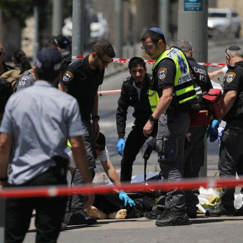 Photo Story – Stabbing attack in Jerusalem