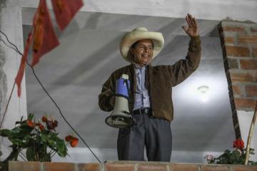 Peru's Fujimori leads protest to annul votes as Castillo nears win