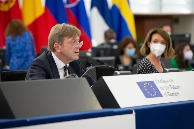 UPDATE – First plenary session of the Conference on the Future of Europe