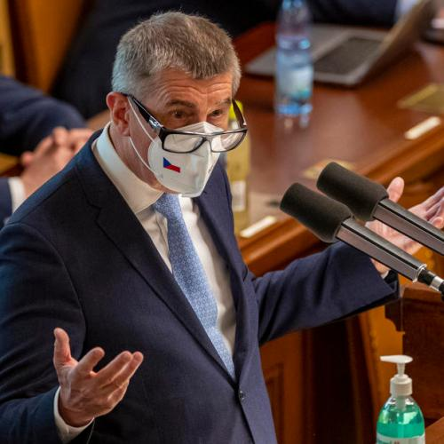Czech government survives no-confidence vote months before election