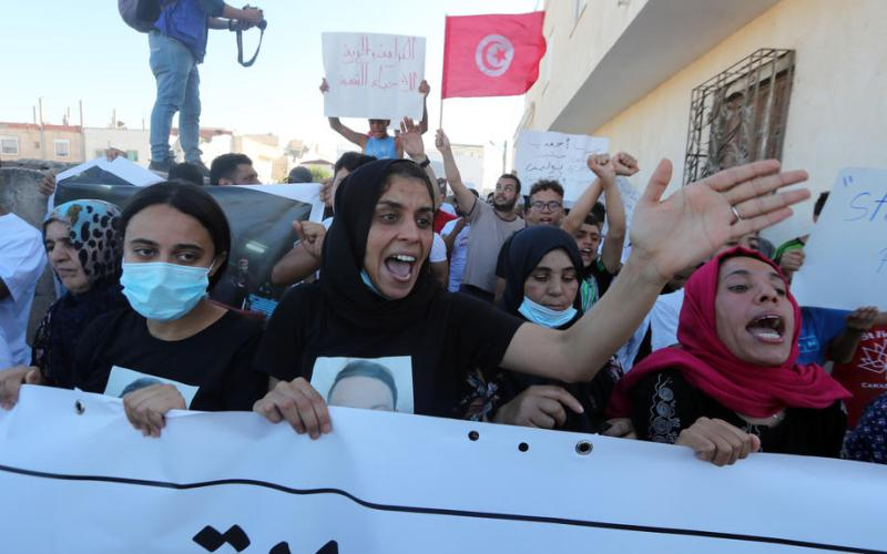 Protests against police abuse spread across Tunisian capital