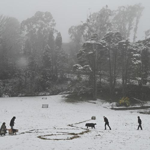 Photo Story: Snowfall in New South Wales, Australia