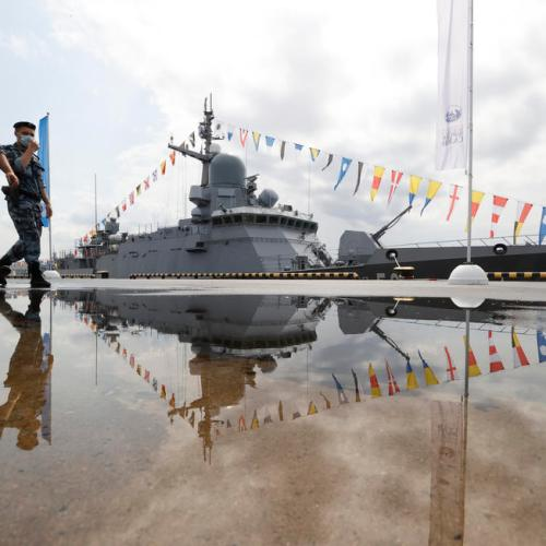 Photo Story: The International Maritime Defence Show in St. Petersburg