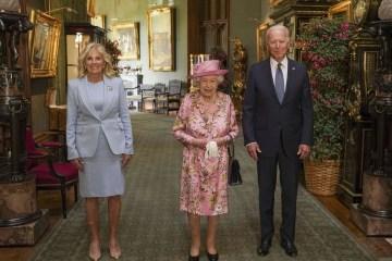 Biden says: Queen Elizabeth reminded me of my mother