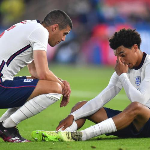 England's Alexander-Arnold ruled out of Euros with thigh injury