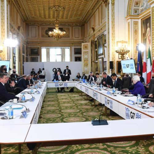 G7 nations 'just one millimetre' from historic corporate tax deal