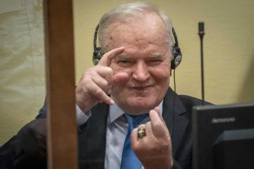 UN court upholds genocide conviction against Bosnian Serb military leader Mladic