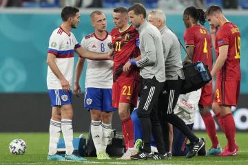 Belgium's Castagne to undergo surgery on fractured eye socket