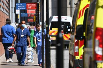 Britain reports greatest increase in Covid-19 cases since July