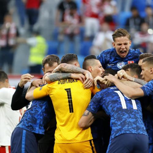 Slovakia report two coronavirus cases at Euro 2020