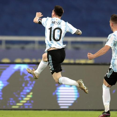 Messi free kick not enough as Argentina held to draw by Chile