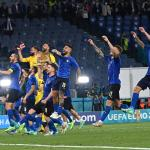 In pictures – Impressive Italy first team to qualify for next round