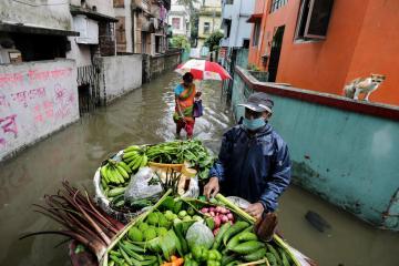 Photo Story – Flood in Kolkata