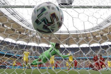 Ukraine beat N Macedonia to end losing streak