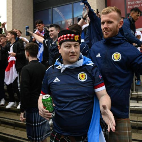 Nearly 2,000 Scots attended Euro 2020 events with COVID, health agency says