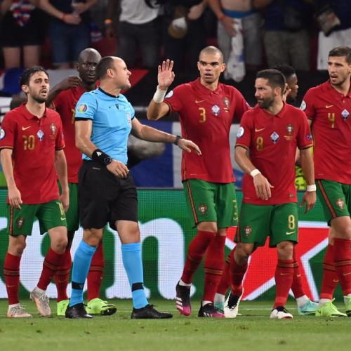 UEFA does not want 'soft penalties' says refs chief