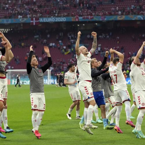 Danish fairy tale continues as they beat Wales 4-0